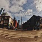 College Street au début du Little Italy de Toronto