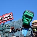 Le Burger King de Clifton Hill à Niagara