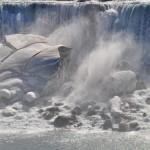 Vue d'ensemble des chutes (américaines) du Niagara