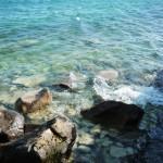Le lac Ontario (non ce n'est toujours pas l'océan), depuis l'ile de Ward à Toronto