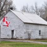 Une maison en bois typiquement canadienne