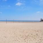 La plage de Woodbine qui donne... sur le lac Ontario (non ce n'est pas la mer) - toujours DANS Toronto