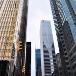 Grattes-ciels dans le Discovery District - le quartier des affaires de Toronto