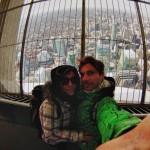 "Petit ""selfie"" en haut de la CN Tower de Toronto"