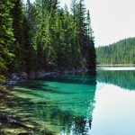 Les eaux turquoises de la Vallée des 5 Lacs - Jasper