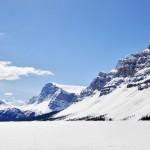 La glace mettra encore quelques mois à fondre sur le lac Hector