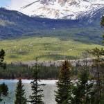 Entre ombre et lumière au Pyramid Lake - Jasper