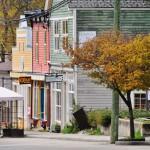 Les maisons en bois peint de New Denver