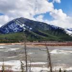 Mélange de couleurs près de Banff