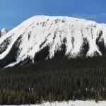 Vue panoramique lors de la ballade en raquettes