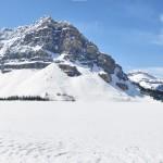 Vue panoramique du lac Hector - Canada