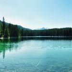 Vue panoramique du dernier des 5 lacs