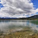 Vue panoramique du lac Patricia, Jasper