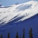 Téton rocheux au coeur des Rocheuses canadiennes