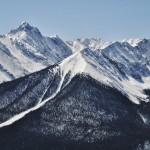 Vue du côté du Sundance Peak