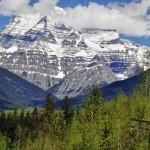 Le Mont Robson et ses 3954 mètres - Colombie-Britannique