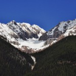 Les sommets vierges de toute trace humaine, Rocheuses - Canada
