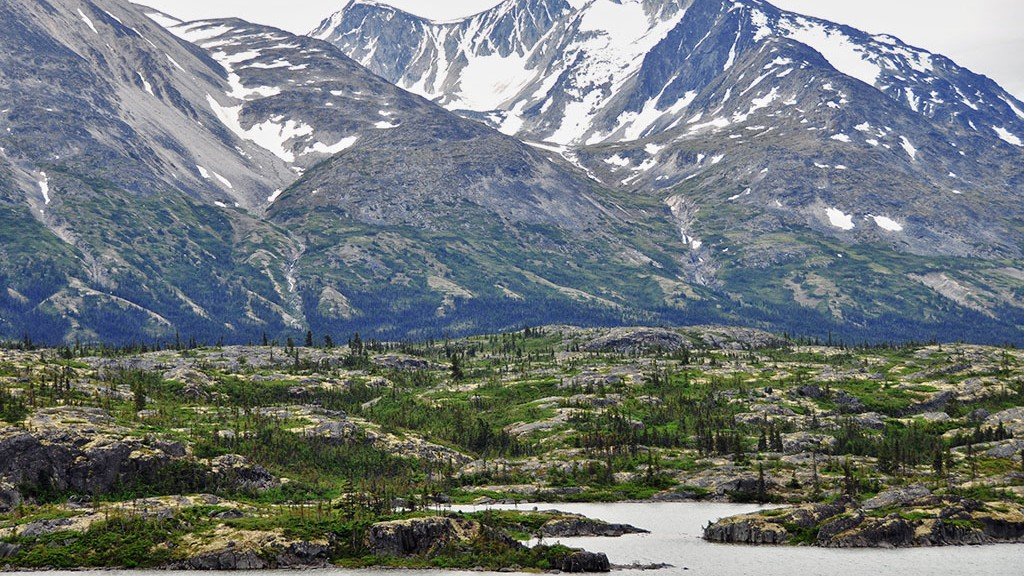 Autre vue de Bernard Lake - Yukon