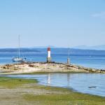 La baie de Chemainus - côte est Vancouver Island