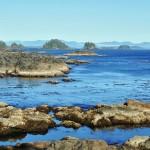 La côte escarpée de Ucluelet - Colombie-Britannique, Canada