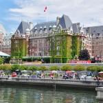 Hôtel de luxe sur le port de Victoria - Canada