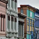 Immeubles du vieux downtown de Victoria