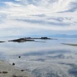 Vue panoramique de la baie de Sooke à marrée-basse - Canada