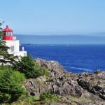 Le phare de Ucluelet - Canada