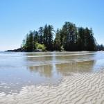 Box Island - une presqu'île qui termine Long Beach - Canada