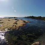 Ce n'est pas du sable mais bel et bien de la roche ! Botanical Beach - Canada