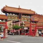 La porte du quartier Chinois de Victoria