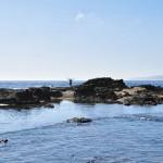 Pierre-Jean à la recherche de coquillages - Botanical Beach