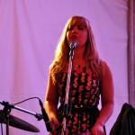 La batteuse d'Alistair Christhl au Folk Festival