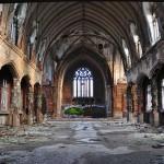 L'église St. Agnes / Martyrs of Uganda, désertée depuis 2006 - Detroit