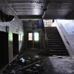 Couloir d'un collège / école désaffecté dans Brush Park - Detroit