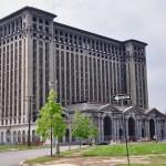 La gare centrale de Detroit - hors service depuis 1988