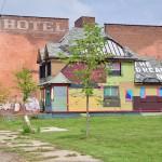 Hôtel désaffecté en face de la gare de Detroit -The dream is now ?