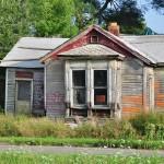 Maison abandonnée dans le quartier de Corktown - Detroit