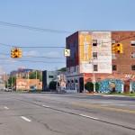 Michigan Avenue... déserte - Detroit