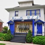Le premier siège du label Motown sur West Grand Boulevard - Detroit