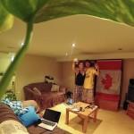 Notre basement vers Bloor West à Toronto