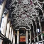 Plafonds, seuls témoins du théâtre de Michigan Building - centre ville de Detroit