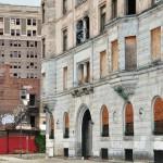 Immeubles abandonnés dans le Midtown de Detroit