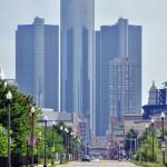Renaissance Center, le siège de GMC à Detroit