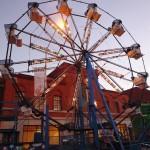 Petite grande roue sur Bloor street lors du festival ukrainien