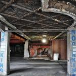 Un parking a remplacé le théâtre du Michigan Building dans le centre ville de Détroit - USA
