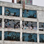 Vitres cassées de la Fisher Body Plant 21 - Detroit, Michigan