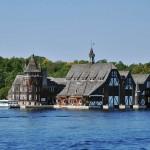 """Ancienne """"boathouse"""" près du château de Bold - 1000 Îles"""