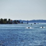 Le fleuve Saint-Laurent à la hauteur des 1000 Îles - Canada