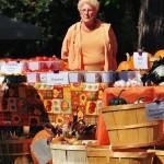 Le marché de Gananoque aux couleurs d'Halloween - Canada